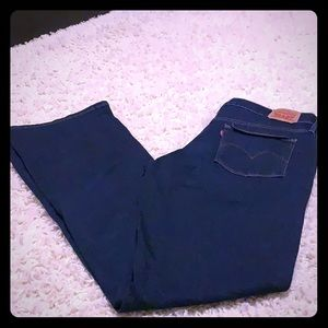 Levi Jeans Size 18W Long Never Worn